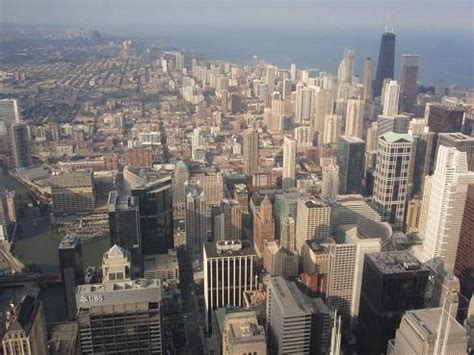 blick chicago lincoln park usa foto archiv