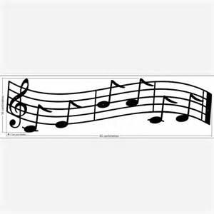 Music Notes Decorations Port 233 Musicale Avec Les Notes De Musique Do Mi Si La Do R 233