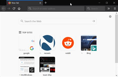 firefox themes light how to enable dark mode theme in firefox browser