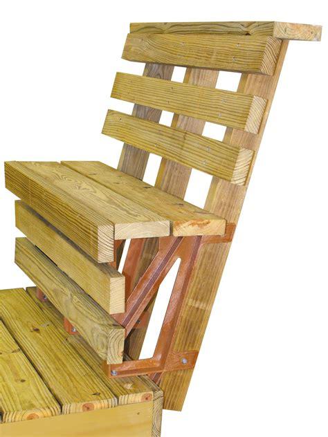 deck bench brackets 2x4 basics deck bench bracket