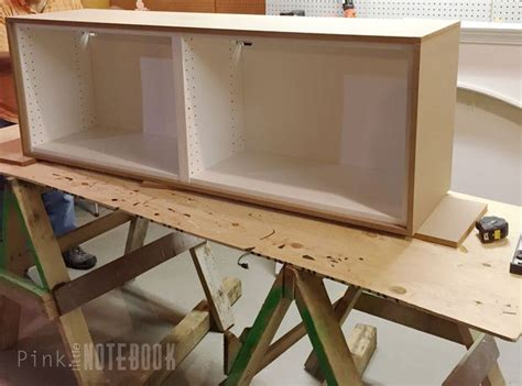 an ikea hack hometalk ikea sektion hack tv console hometalk