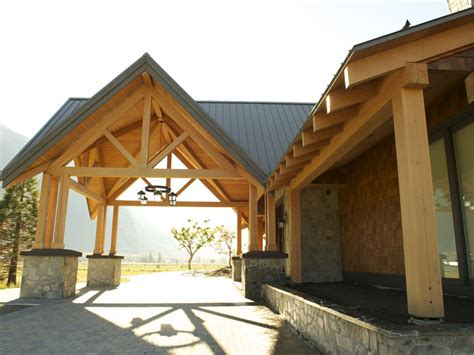 hybrid timber frame home gallery pemberton bc