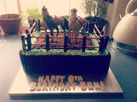 horse themed birthday cake   boys pferde kuchen pferdekuchen ponys