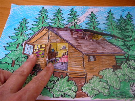 themes in little house in the big woods our 3 dimensional model of little house in the big woods