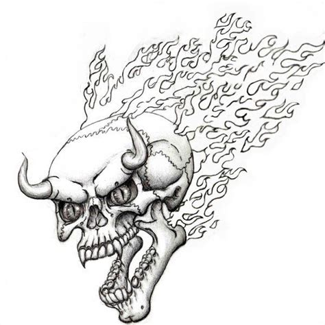 coloring pages fire skulls 71 best projects to try images on pinterest tattoo ideas