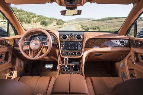 luxury bentley interior the luxury suv bentley bentayga is unveiled in
