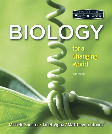 scientific american biology for a changing world books macmillan learning biology