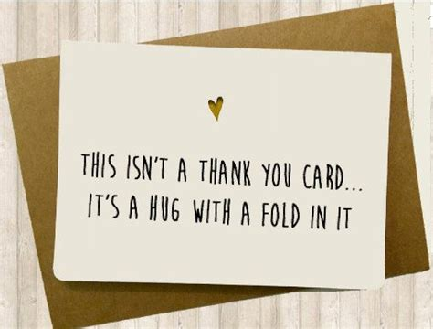 thank you letter gift card sle thank you card etsy cards and card ideas