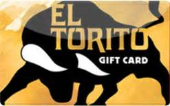 El Torito Gift Cards - buy el torito gift cards raise