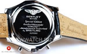 Bentley Motors Special Edition Breitling Bentley Motors Special Edition