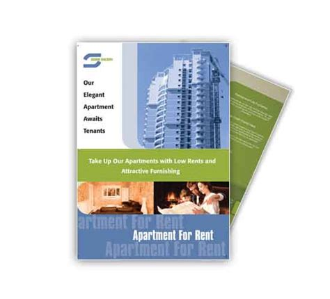 apartment flyer template sle templates