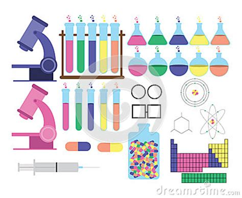 themes relating to time science themed objects stock image image 31210601