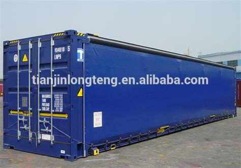 curtain sided container new 20 40 open curtain side container buy 40 open side