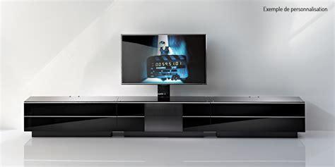 Meuble Bas Tv Noir by Meuble Tv Banc Meuble Tv 160 Maisonjoffrois