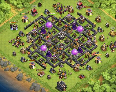 ultimate th9 layout clash of clans base designs per town hall walkthrough