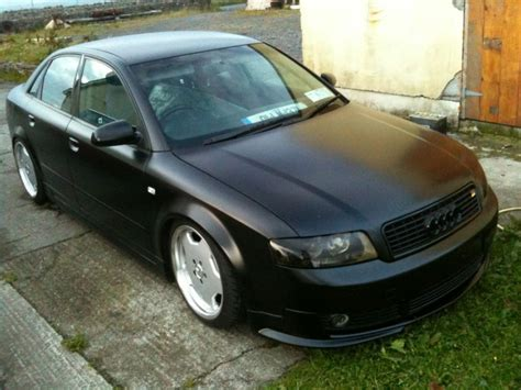 Audi A4 Matt Schwarz by Matt Black A4 B6 Audizine Photo Gallery