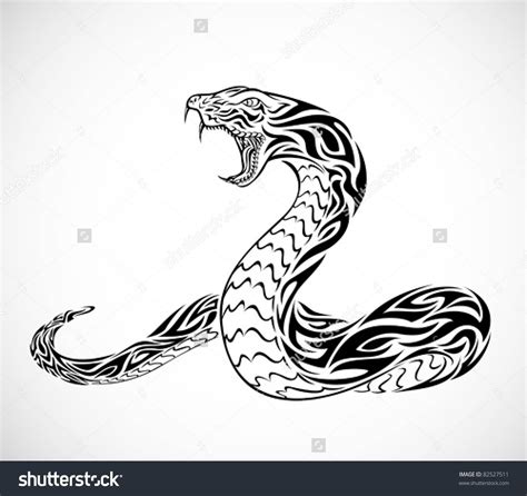 snake tribal tattoos 54 snake designs