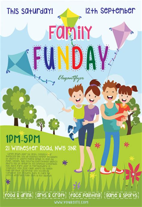 family day flyer template shop free flyer psd template cover by on