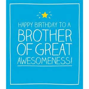 brother birthday cards from postmark online