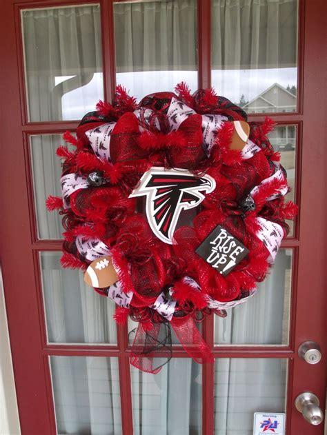 atlanta falcons wreaths poly mesh wreath atlanta falcon pin by karen sanderson on sparkle shimmer and shine
