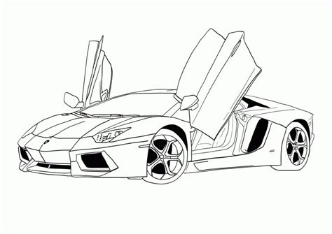 free printable coloring pages of cars for adults coloring pages lamborghini coloring pages print colorine