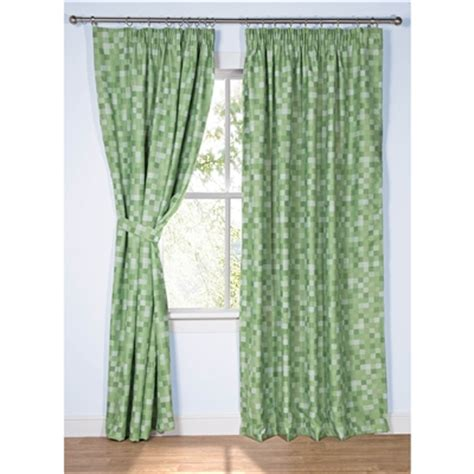 minecraft curtains for sale ready made curtains inspired by minecraft pixel green