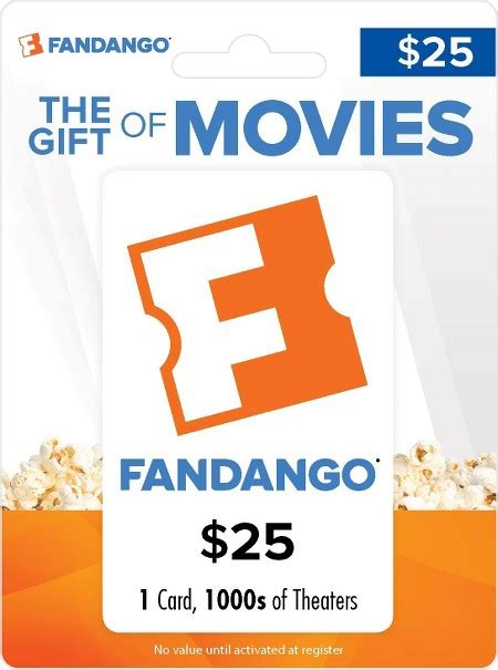 How To Use A Fandango Gift Card - how to use fandango gift card at theater photo 1
