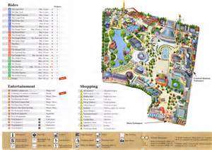 tivoli gardens 2009 park map