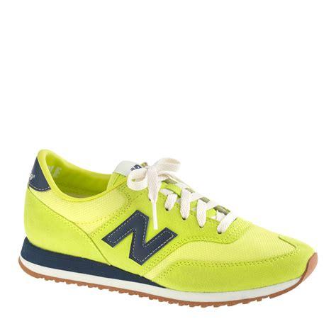 womens yellow sneakers new balance womens new balance for 620 sneakers in yellow