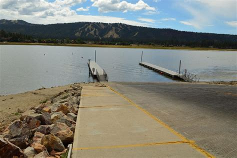 public boat launch big bear lake lower lake level changes public launch r late season