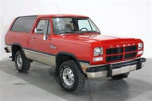 purchase used 1993 dodge ramcharger sport 4x4 no
