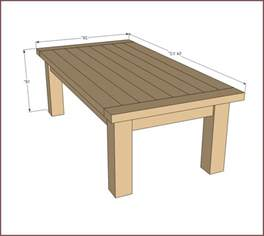 Diy coffee table plans home design ideas
