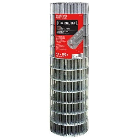 everbilt 4 ft x 100 ft 14 welded wire 308312hd