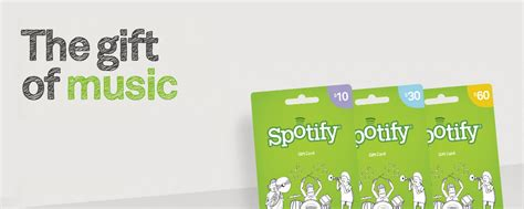 Is There Spotify Gift Cards - spotify adds new features gives new customers easier buying options with gift cards