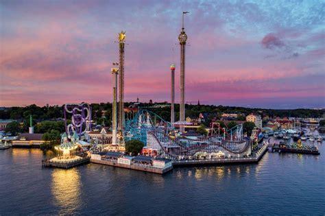 groena lund amusement park  stockholm