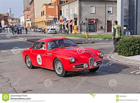 vintage alfa romeo race cars vintage alfa romeo 1900 ssz zagato 1957 editorial stock