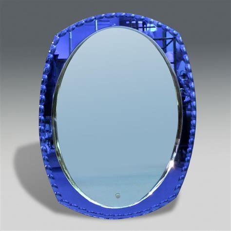 Latest Chandeliers 50 S Blue Mirror Stock Christopher Jones Antiques