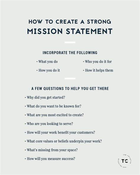 mission statement template 25 unique creating a mission statement ideas on