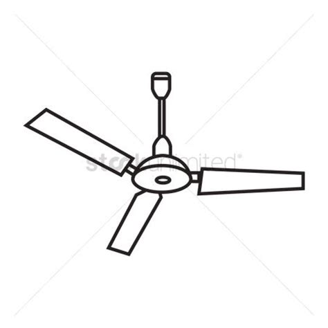 Fan Outline by Free Ceilings Stock Vectors Stockunlimited