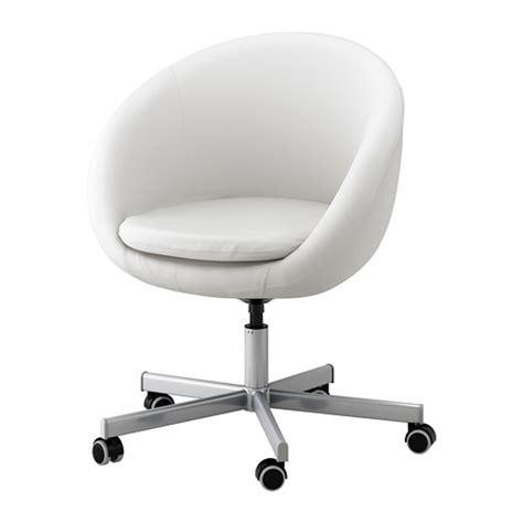 Skruvsta Swivel Chair Idhult White Ikea White Desk Chair Ikea