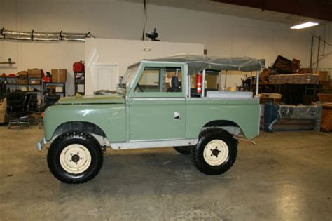 1967 land rover seriesiia 88 frame rebuild in 2005