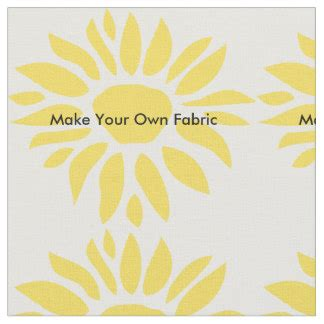 create your own fabric zazzle