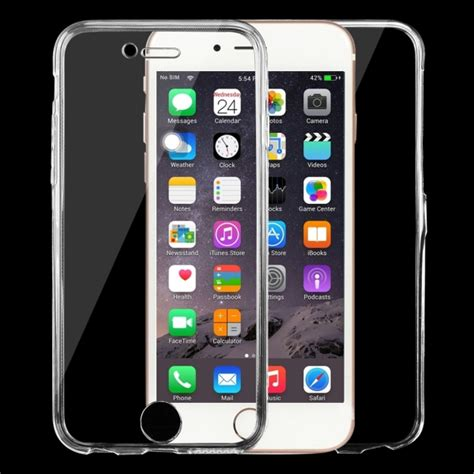 Iphone 6 6s Ultrathin Artist Us430 for iphone 6 6s 0 75mm sided ultra thin transparent tpu protective transparent