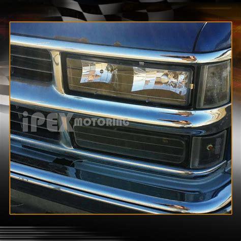 1998 chevy silverado lights 1988 1998 chevy gmc silverado suburban tahoe black