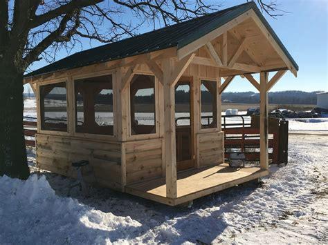 Pre Built Screened Gazebo Custom Made Free Standing Screen Porches Gazebos