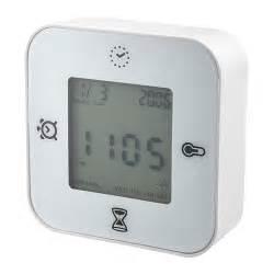 klockis klok thermometer alarm timer ikea