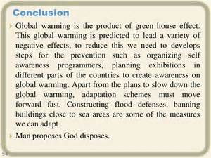 Global Warming Essay Introduction by Conclusion Global Warming