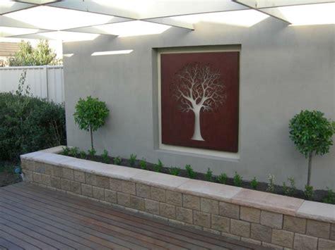 Backyard Wall Designs by Fachadas Y Muros Exteriores Ideas De Dise 241 O Y Decoraci 243 N