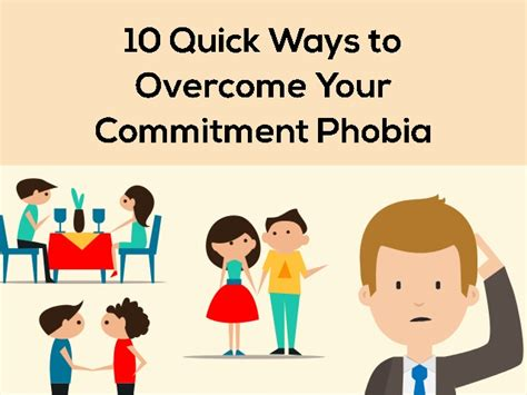 10 Common Fears And Ways To Overcome Them by 10 Ways To Overcome Your Commitment Phobia