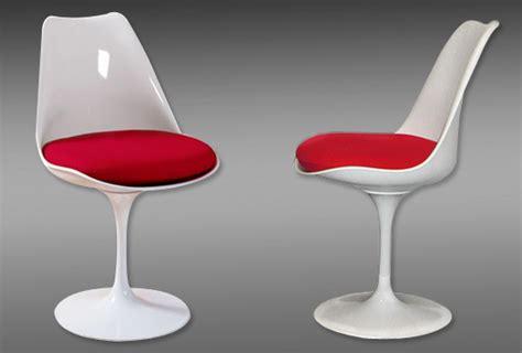 chaise pied tulipe chaise tulipe chaises design terre design